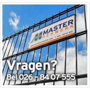 Vragen? bel 026-8407555
